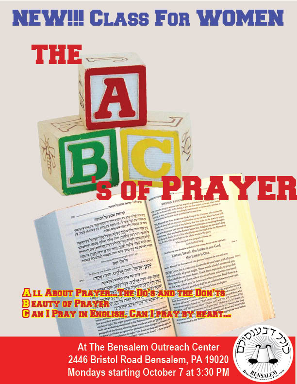 The ABC's Of Prayer