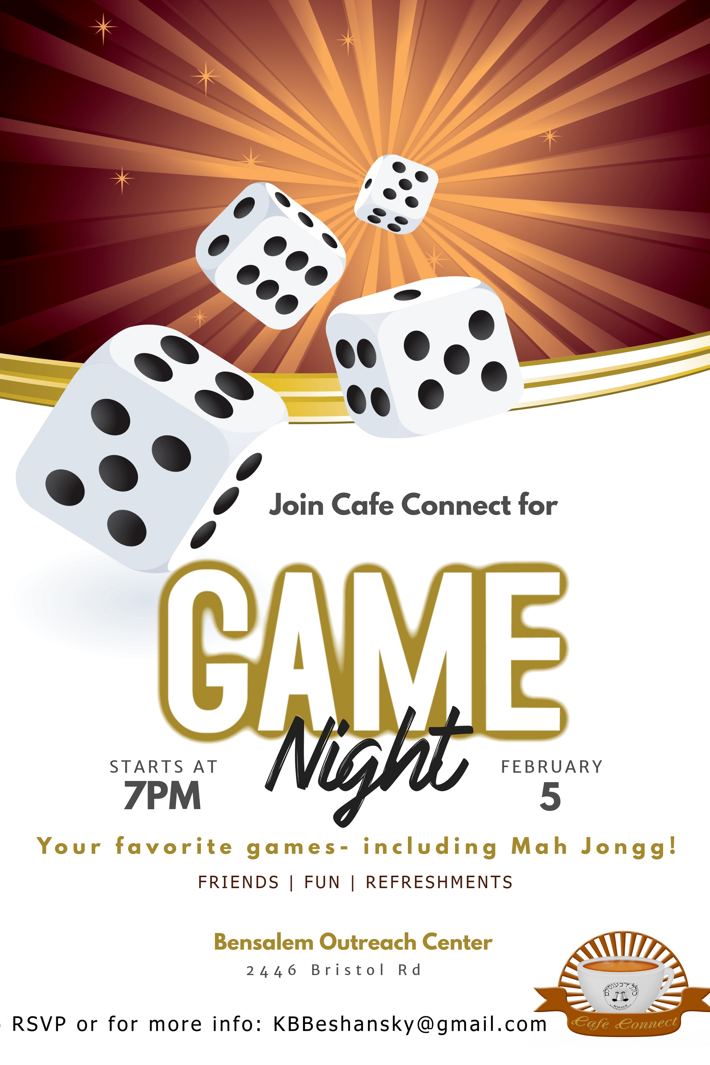Cafe Connect: Game Night