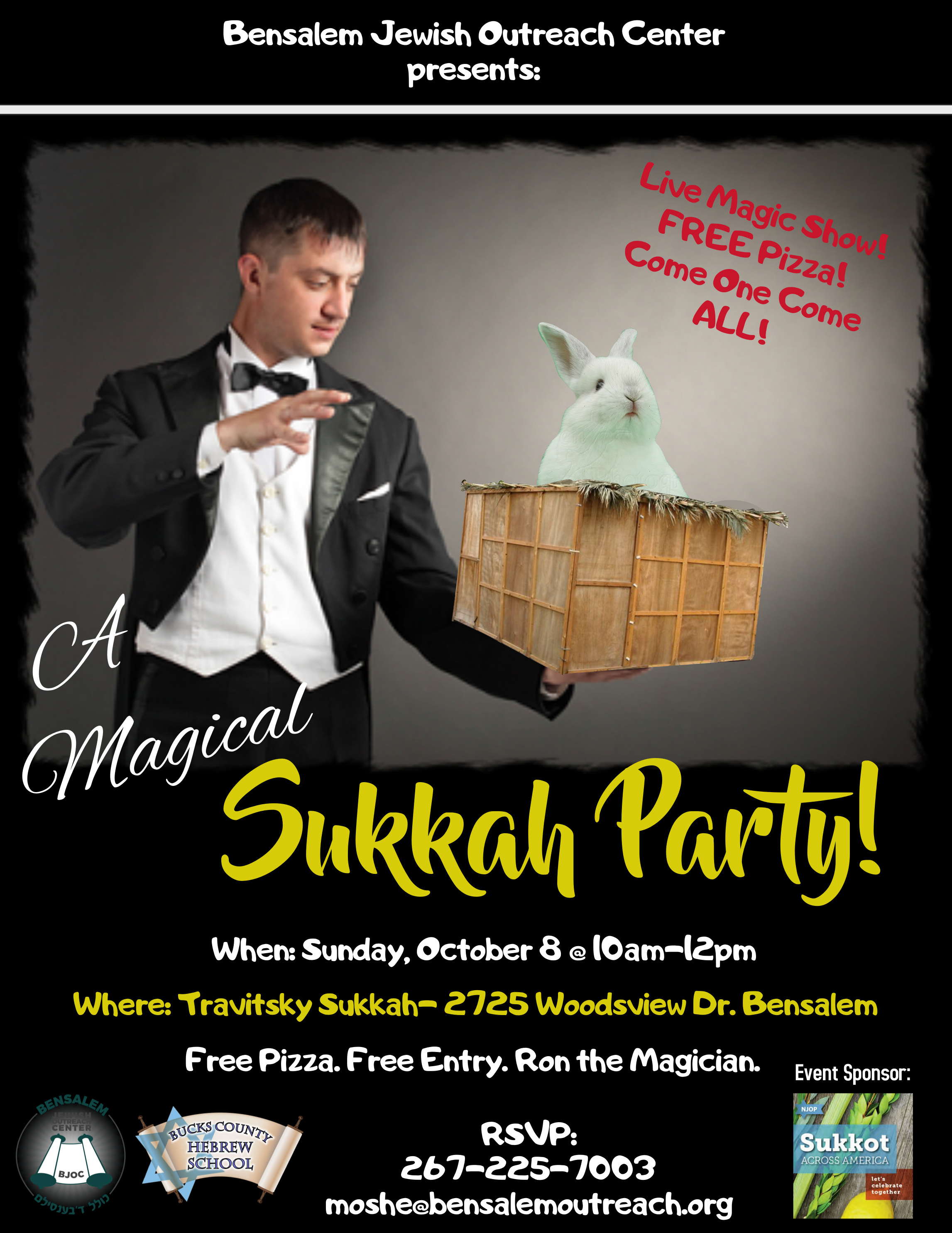 A Magical Sukkah Party