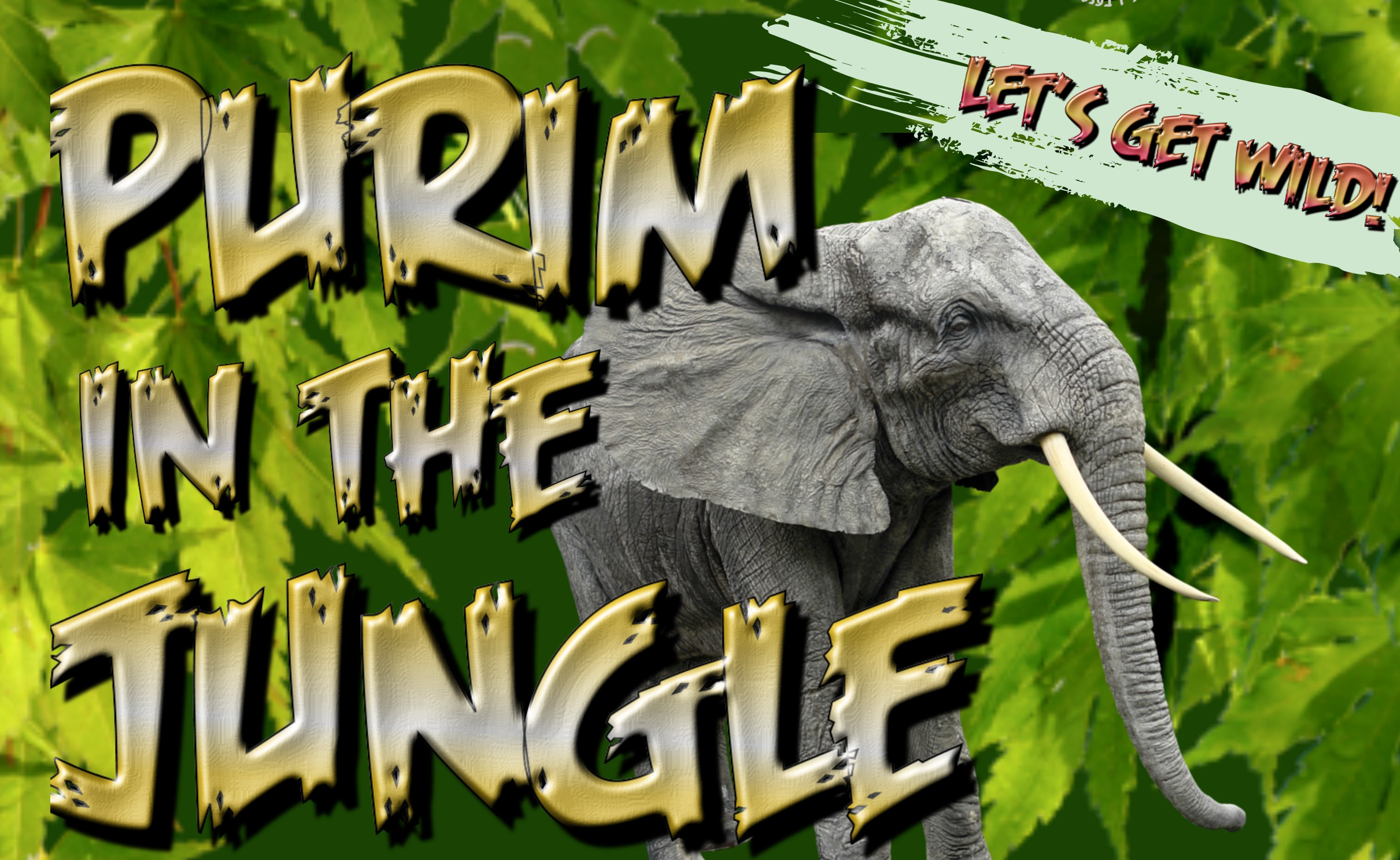 Purim in the Jungle